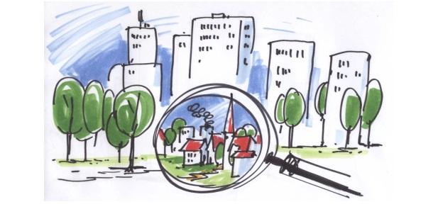 Identitätswerkstatt im Rahmen des Prozesses Garath 2.0 am 25.09.2015