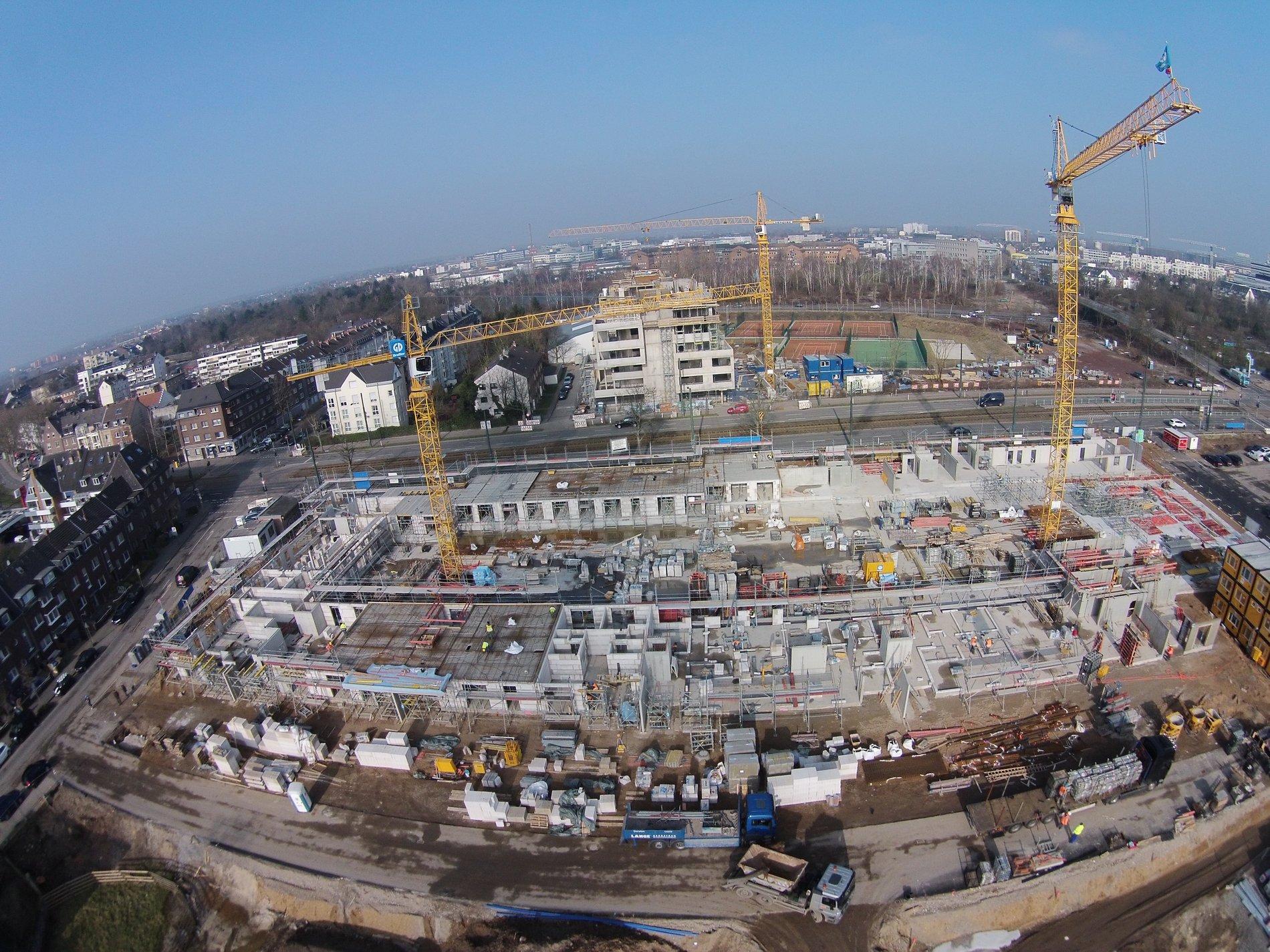 RKM740 Baustatus vom 11.03.2015