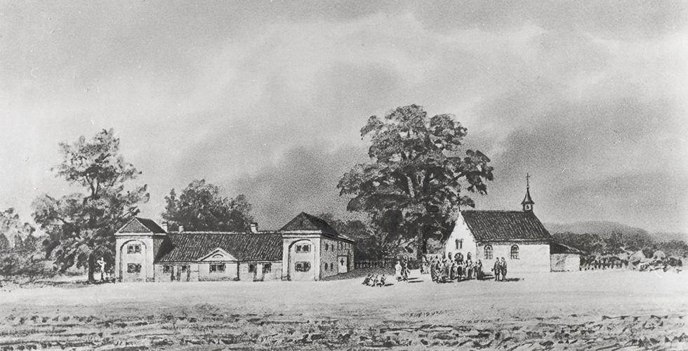 Inhaltsbild_Franziskanerkloster_1855