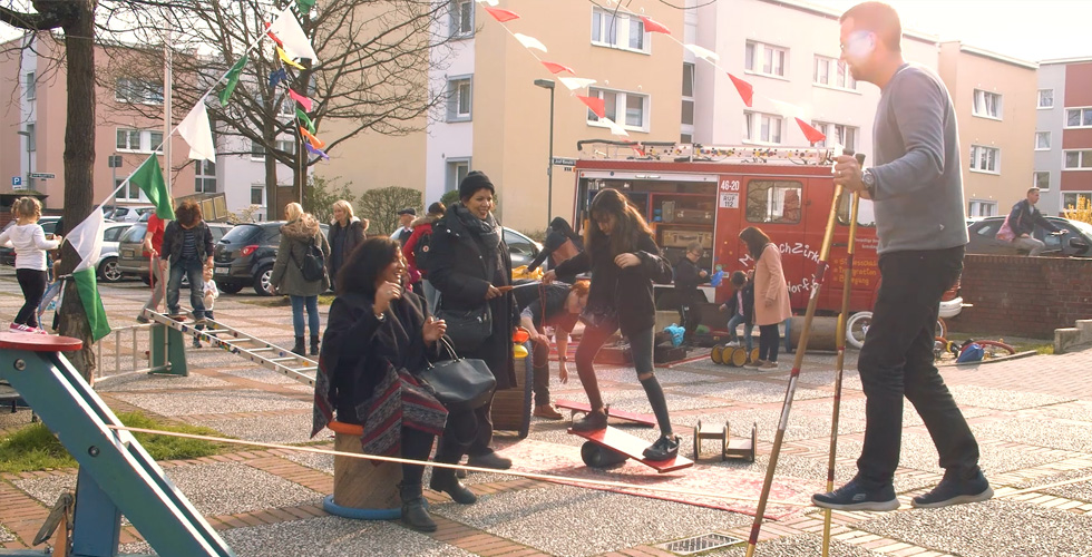 "Mieterfest ""10 Jahre Norberthaus"""